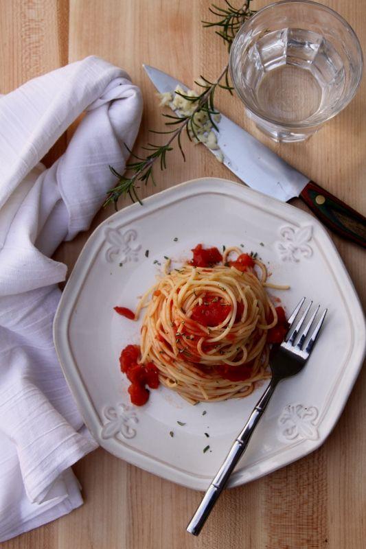 Spicy Rosemary Spaghetti from @Paula - bell'alimento