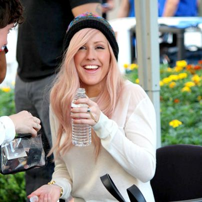 Paul Mitchell Schools | Ellie Goulding's Beanie and Pastel Hair
