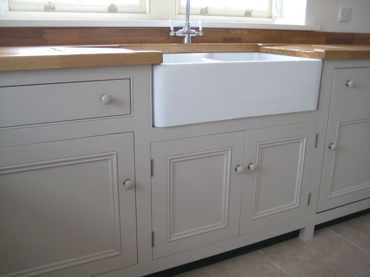 Double Sided Farmhouse Sink : Double Belfast sink Kitchens Pinterest