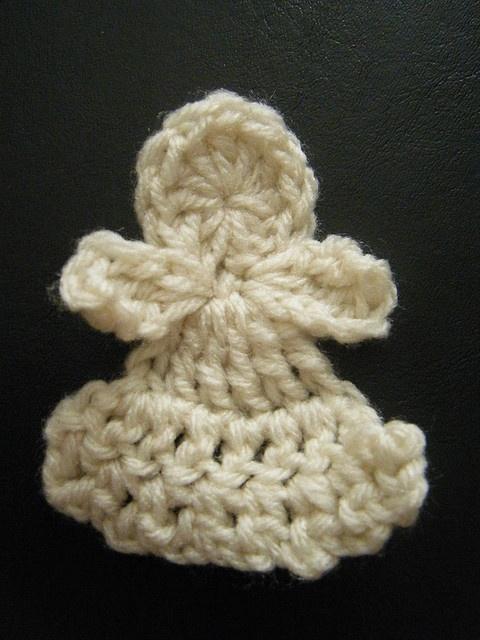 Crochet Angel : thread crochet angel pattern