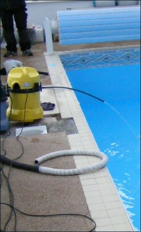 Swimming Pool Filling Up With Water Swimming Pools Pinterest