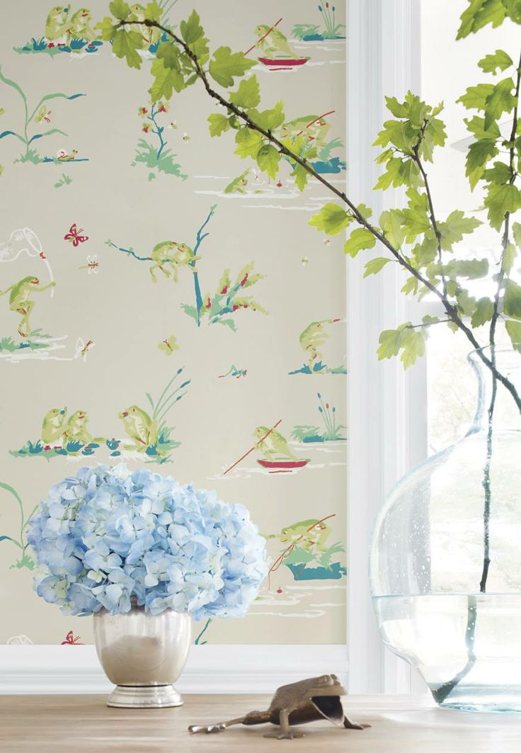 whimsical wallpaper coast cottage pinterest