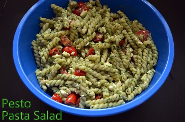 Pesto Pasta Salad | Flavors by Four Recipes | Pinterest
