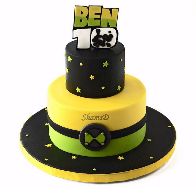 Ben 10 Cake by ~ShamsD~, via Flickr
