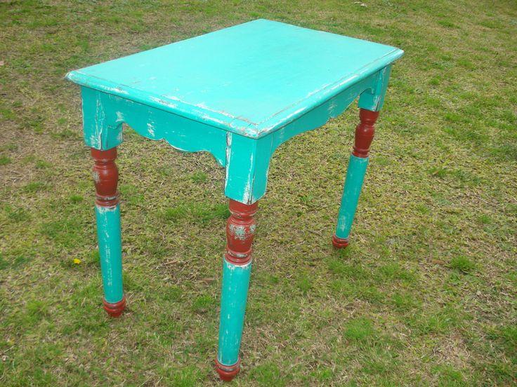 mesa antigua restaurada  Campo Chico Muebles disponibles