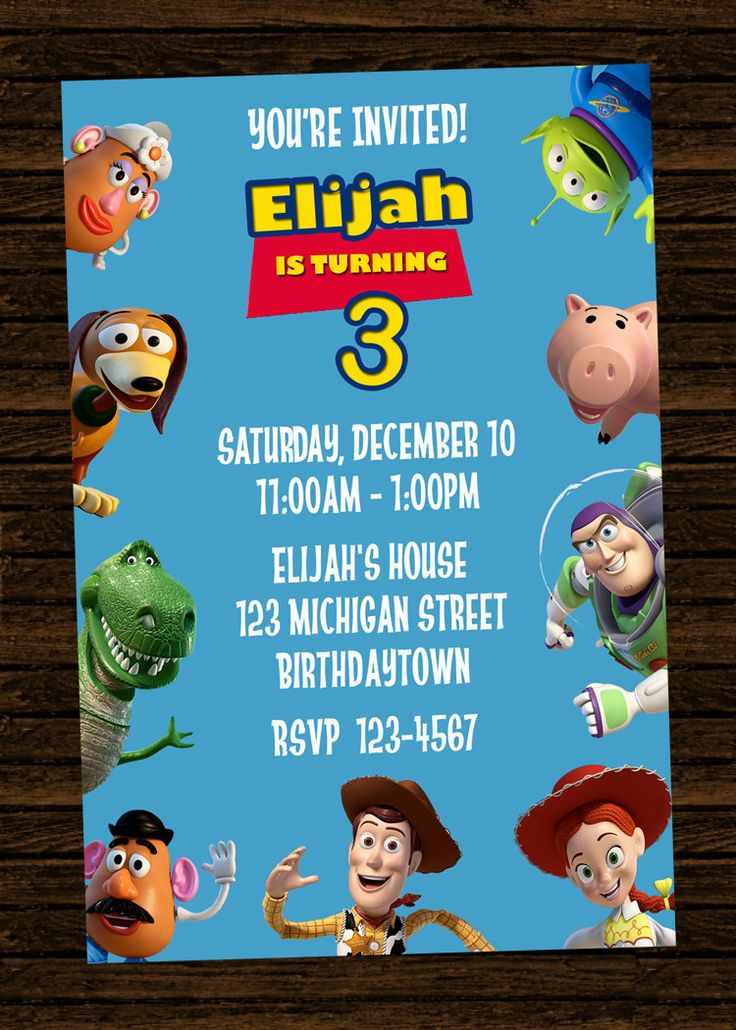toy story invitations template selo l ink co