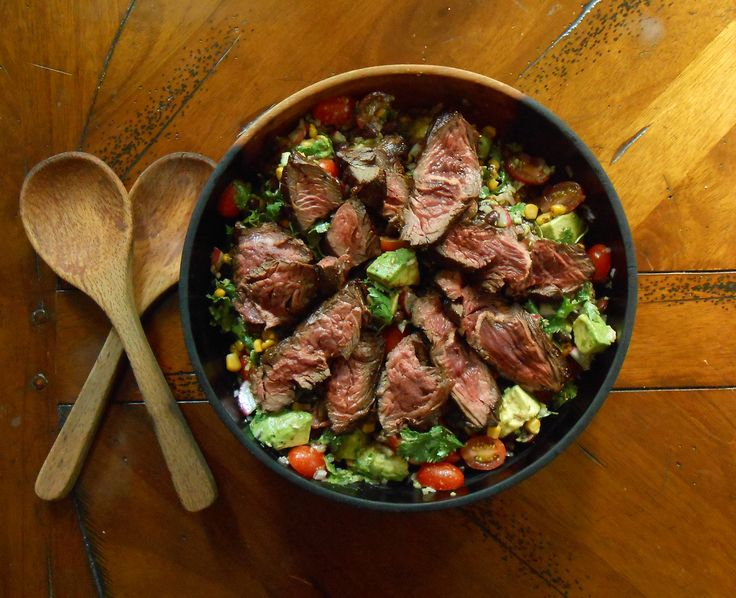 ... Hanger Steak- a homemade craving satisfier for steak salad at Chipotle