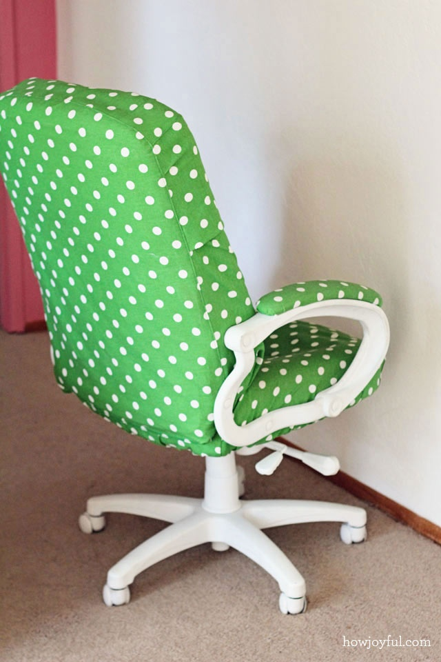 Recover An Old Office Chair Crafts Projects Pinterest