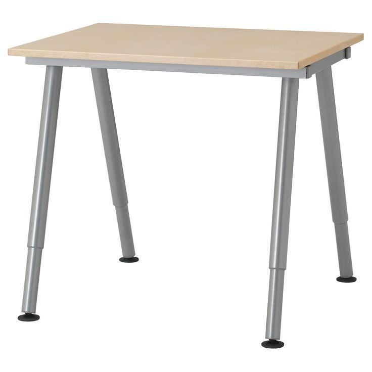 GALANT Desk birch veneer IKEA