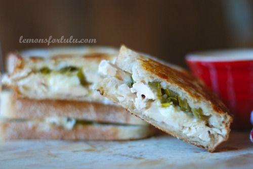 Jalapeno Chicken Grilled Cheese with White BBQ Sauce | Recipe