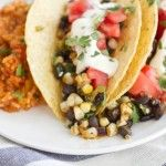 spiced black bean grilled avocado and goat cheese tacos naturally ella