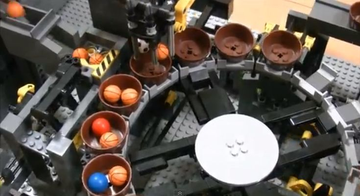 More LEGO Great Ball Contraption Action