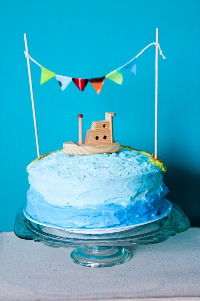 Boat Birthday Cake Images : Boat birthday cake. Party Ideas Pinterest