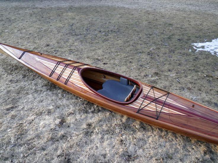 wood strip kayak | Sea Kayak | Pinterest