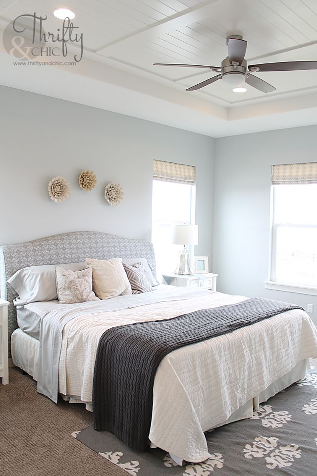 Pin by amy pilcher on home ideas pinterest for Beach master bedroom ideas