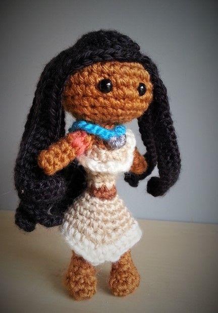 Disney Amigurumi Crochet Patterns : Pocahontas Disney Amigurumi Crochet Needle Craft ...