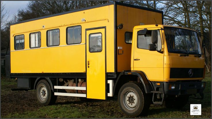 Mercedes benz 917 4x4 expedition truck overland trucks for Mercedes benz truck for sale