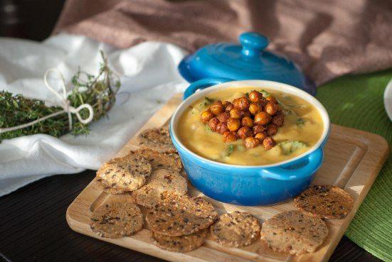White Bean, Kale & Parsnip Stew with Smoky Chickpeas.....vegan.