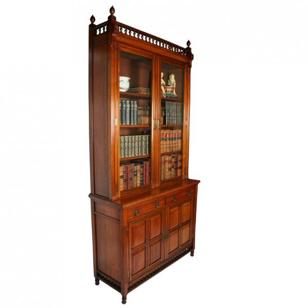 Image Result For Walnut Bookcase