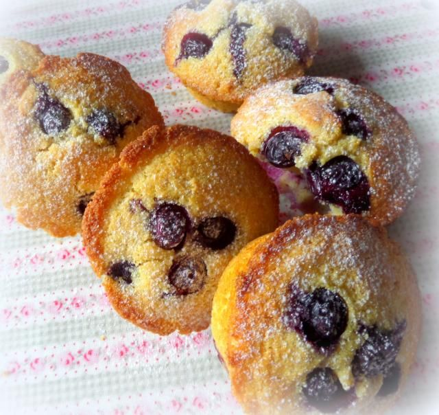 Blueberry & Maple Corn Muffins* | Something Sweet | Pinterest