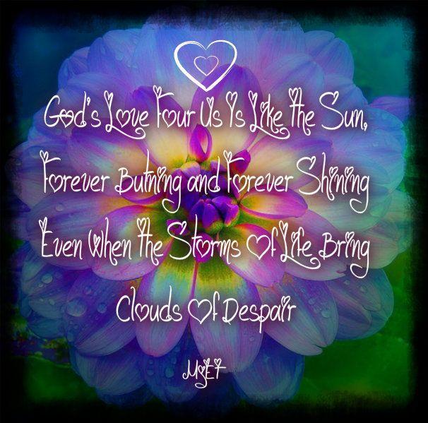 gods love is eternal inspirational bible verses pinterest