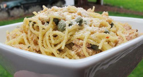 Spicy Tuna Pasta For Lunch   Fooooooooood!   Pinterest