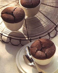 Bake this puddinglike dessert in individual custard cups or ramekins.