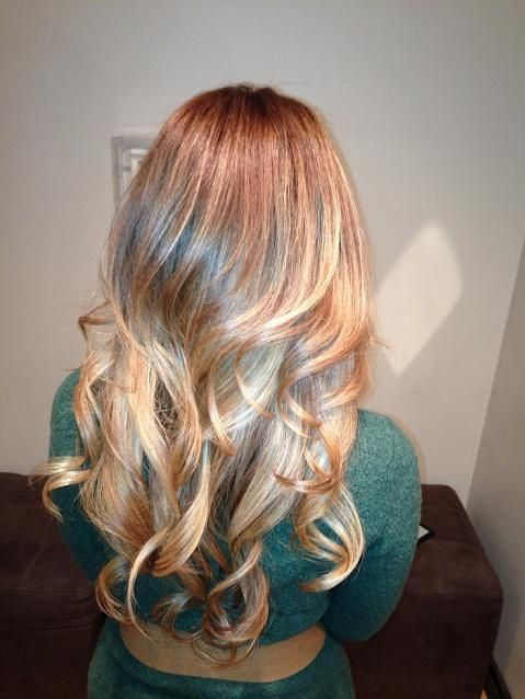 balayage ombre blonde hair color  hair  pinterest