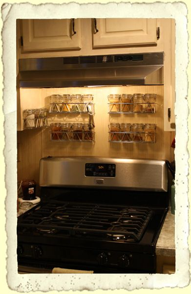 Frugal Fine Living: Spice Storage