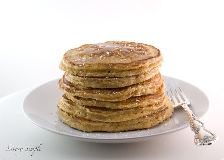 Eggnog Pancakes - really yummy and easy to make. I was nervous about ...