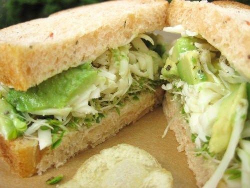 My favorite sandwich avocado and mozzarella sandwich | Tango Mango
