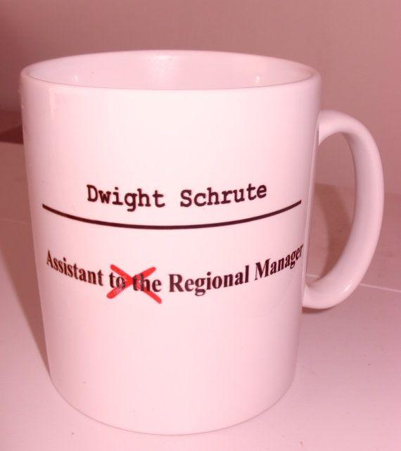 The Office Dunder Mifflin Dwight Schrute Mug