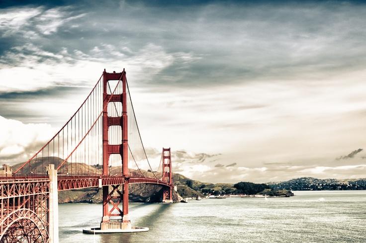 Golden Gate bridge, SFO.    Please vote for this image at http://500px.com/photo/6279401