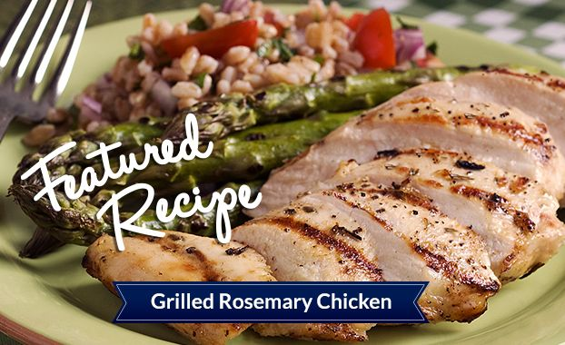 Grilled Rosemary Chicken | Chicken Please | Pinterest