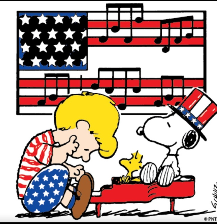 4th of july snoopy pictures