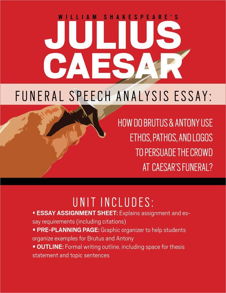 persuasive essay julius caesar