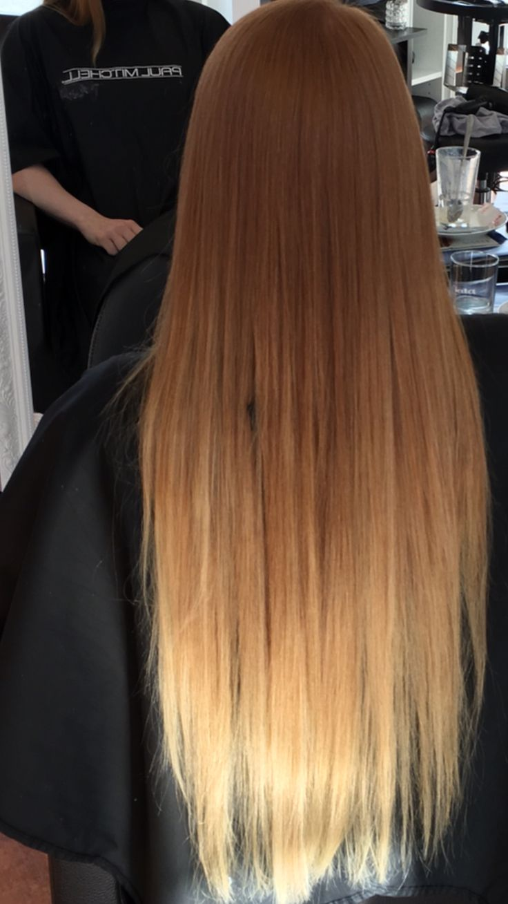 Ombre Natural Red To Blonde Hair Pinterest Red To