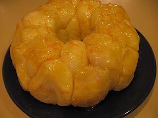 Easy Breakfast Pull-apart Orange Rolls   Food   Pinterest