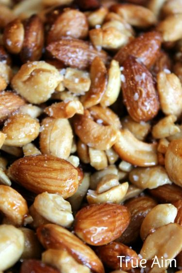 Healthy after school snack: Homemade Honey Roasted Nuts!