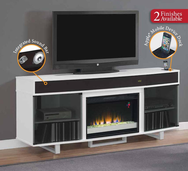 For Sound Bar Surrounds A 32 Quot Classicflame Electric Fireplace