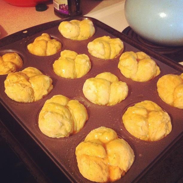 Pull Apart Sweet Potato Rosemary Rolls | Bread - Bread - Bread | Pint ...