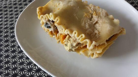 Butternut Squash and Mushroom Lasagna | Foodie Things | Pinterest