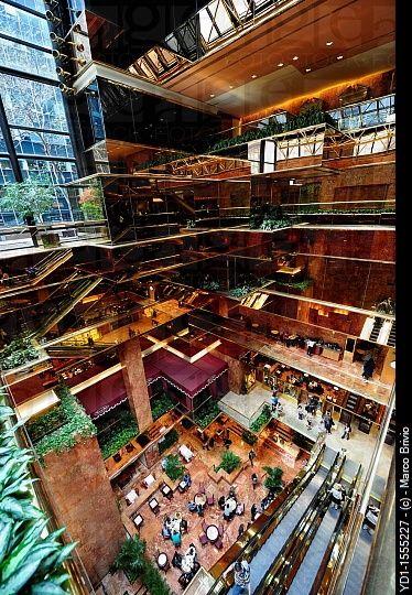 Trump tower atrium new york city usa architecture for The interior ny