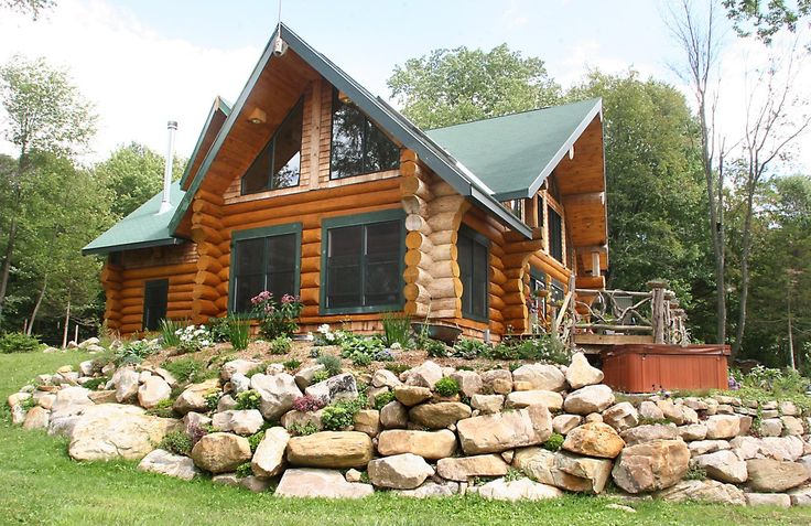 Pin By Log Timber Homes On Log Homes Pinterest