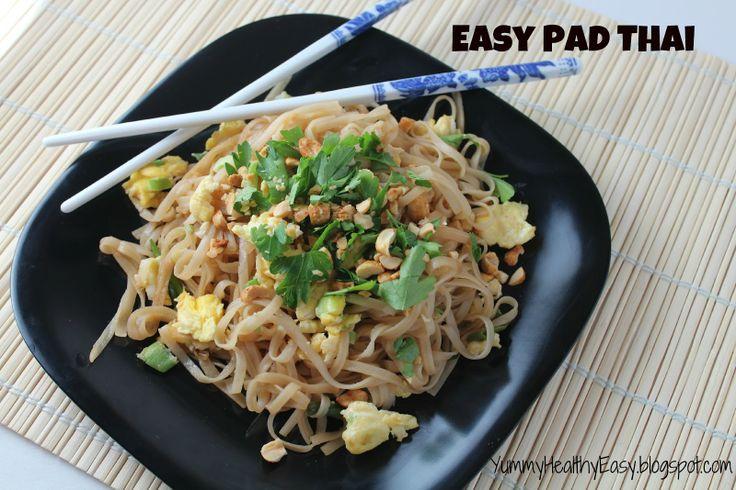 Yummy - Healthy - Easy: Easy Vegetable Pad Thai =making this tonight ...