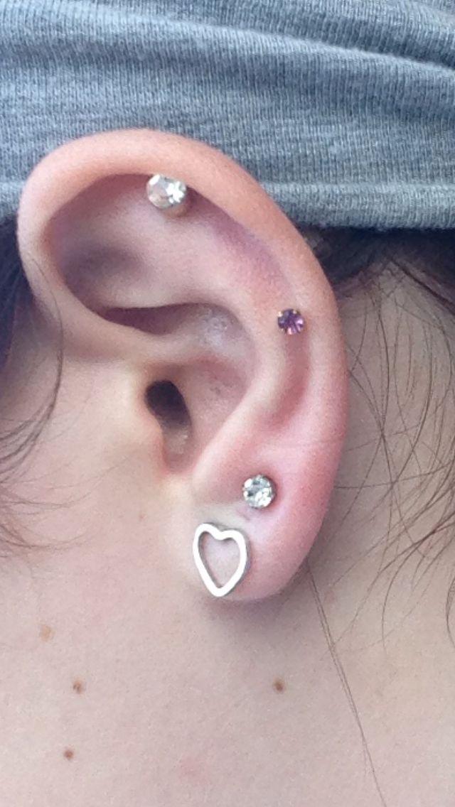 Ear piercing | Pretty Piercings | Pinterest
