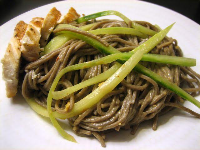 peanut sesame noodle   I should cook more..   Pinterest