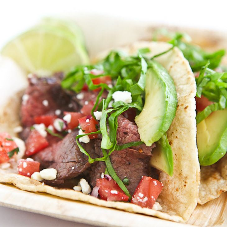 Skirt Steak Tacos With Spicy Sour Cream Recipes — Dishmaps