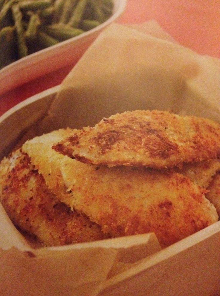 Panko pan fried fish strips recipes various pinterest for Panko fried fish
