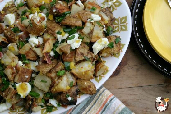 Grilled-Potato-Salad - different, but sounds good